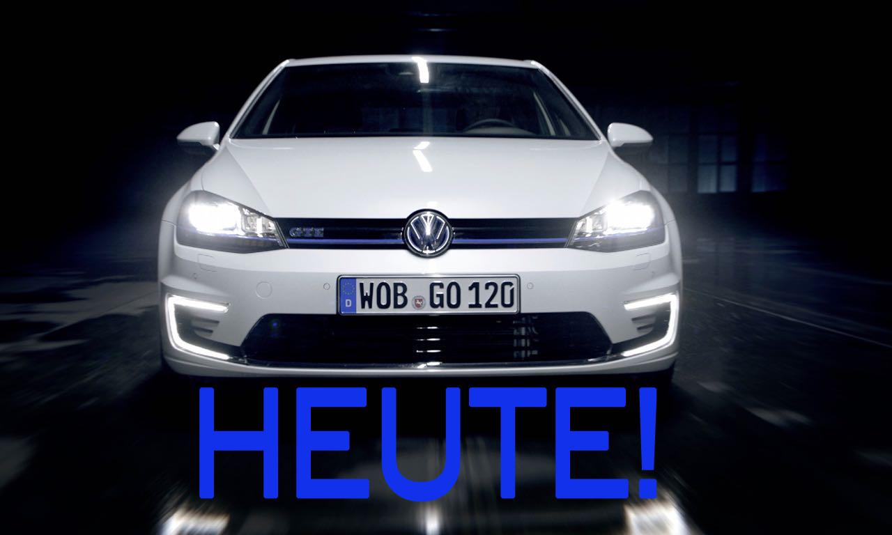 Der neue Volkswagen Golf GTE ist ab heute bestellbar!