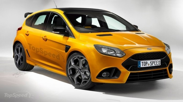 Ford Focus RS (Rendering: TopSpeed)