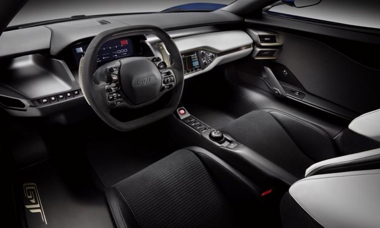 Das Interieur des neuen Ford GT
