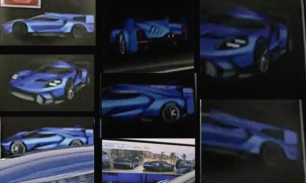 Ford GT Rennwagen