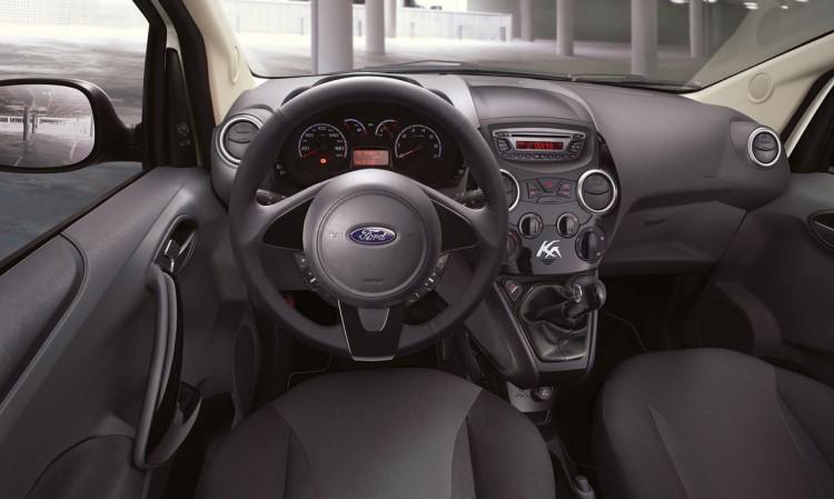 Ford Ka Black and White Edition Innenraum