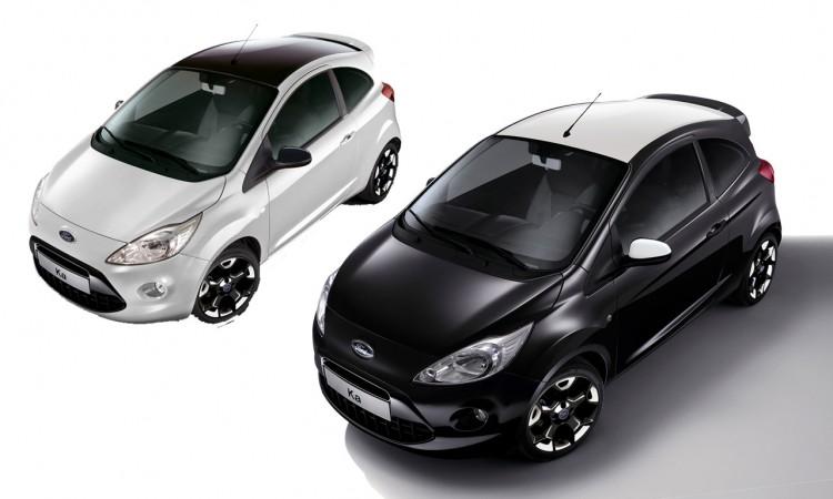 Ford Ka Black & White Edition jetzt für 12.750 Euro.