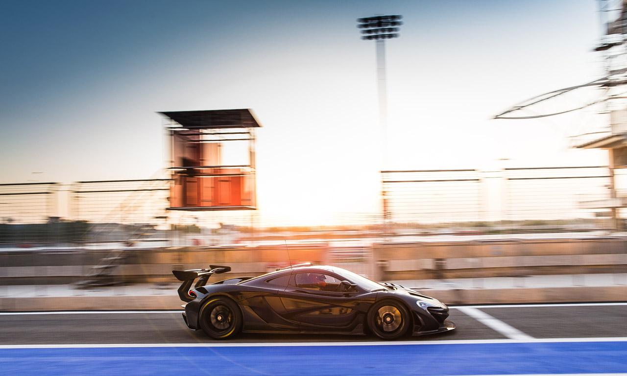 McLaren P1 GTR Geneva 2015