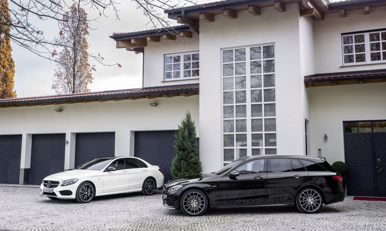 Mercedes-Benz C450 AMG 4MATIC Limousine und T-Modell