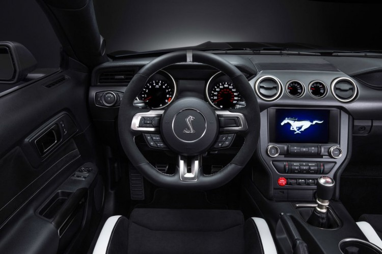 Mustang Shelby GT 350R Cockpit