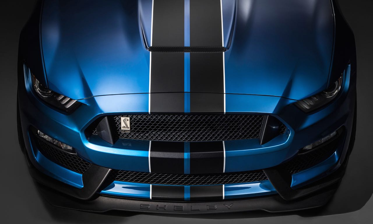 Mustang Shelby GT 350R 10 - Ford Mustang Shelby GT350-R: Rennstrecken-Monster.