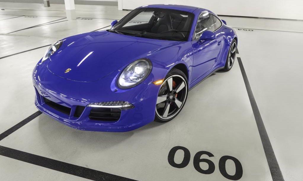 Porsche 911 Carrera 4 GTS Club Coupe PCA