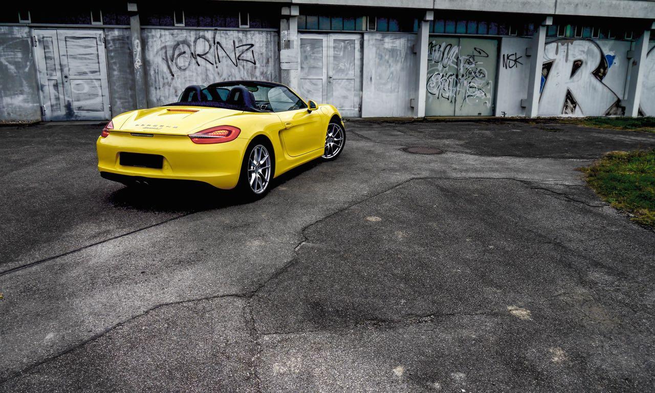 Porsche Boxster S Fahrbericht (Photo Benjamin Brodbeck)