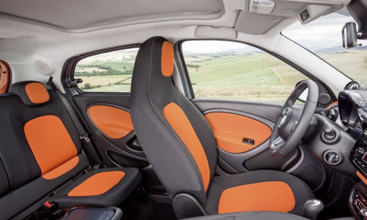 Smart forfour Interieur