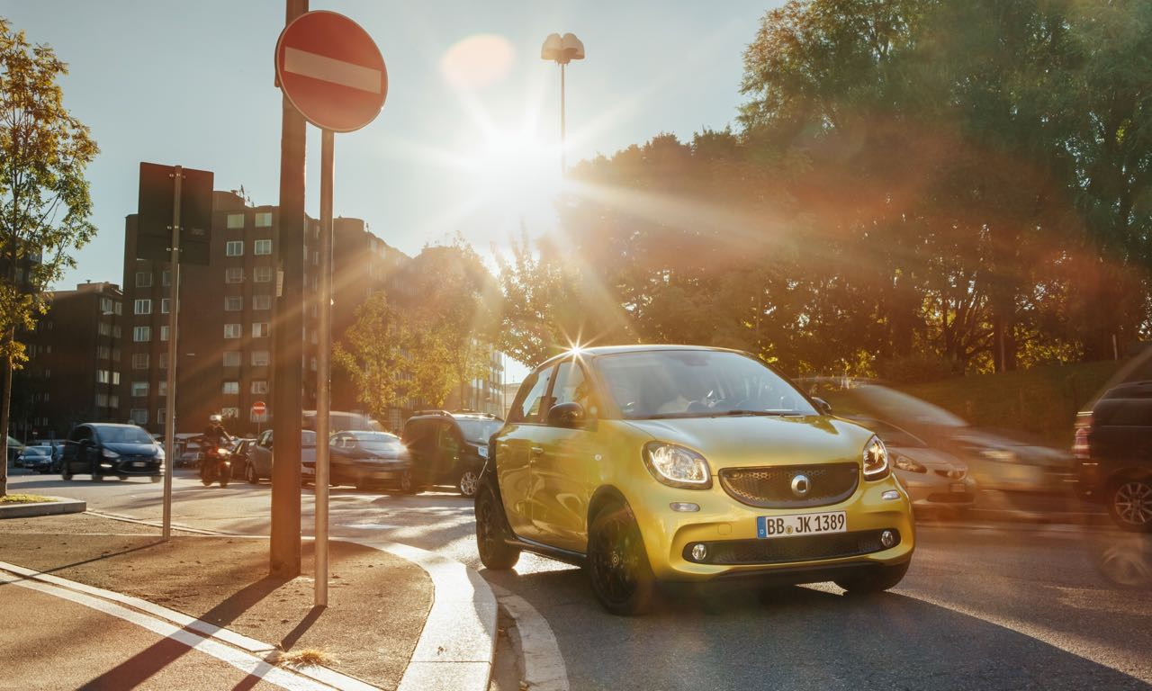 Smart forfour: Bei 11.555 Euro geht es los.