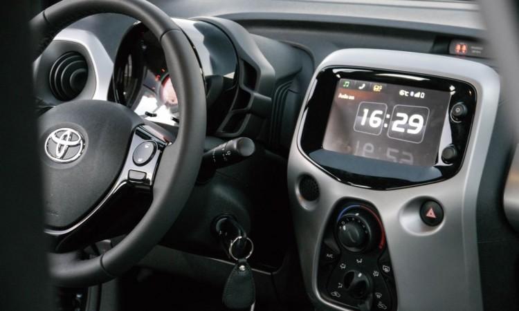 Toyota Aygo Multimedia-System