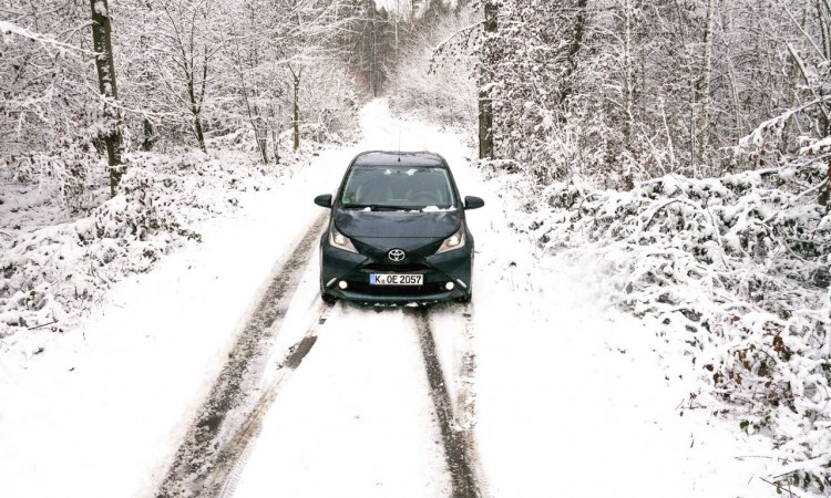 Fahrbericht Toyota Aygo: Kleinstwagen im Schnee – ja klar!
