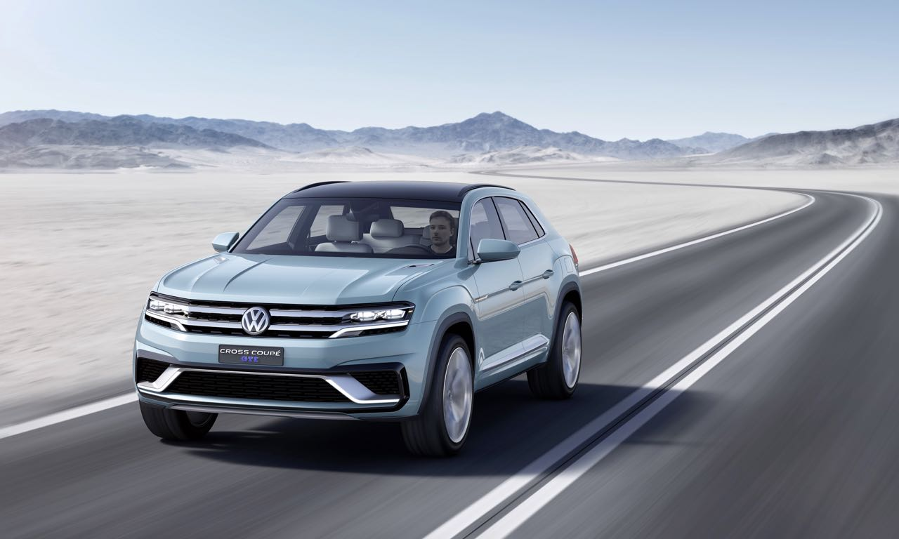 Volkswagen Studie Cross Coupe GTE