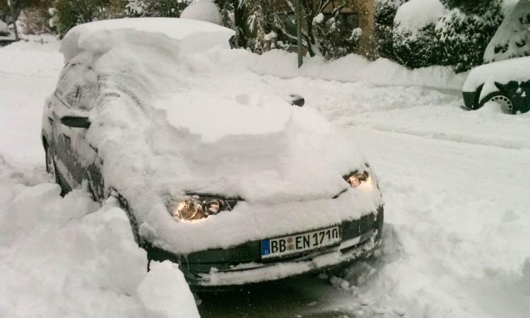 Wintermythen Autos: BMW 120d