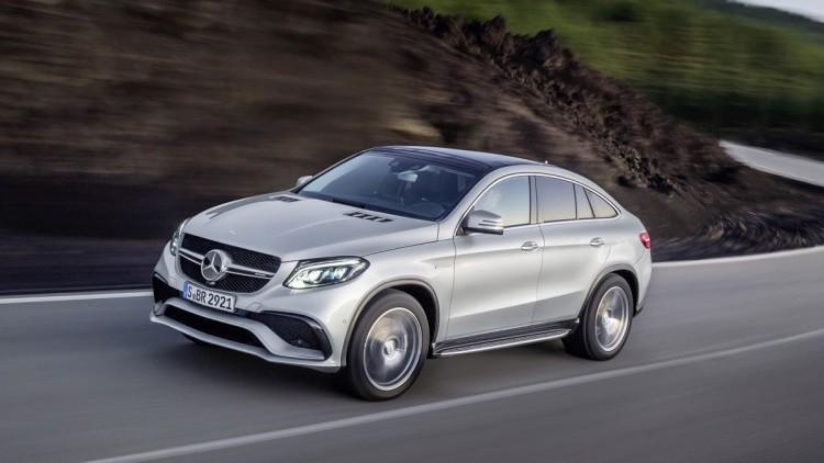 Detroit 2015: Mercedes-Benz GLE Weltpremiere