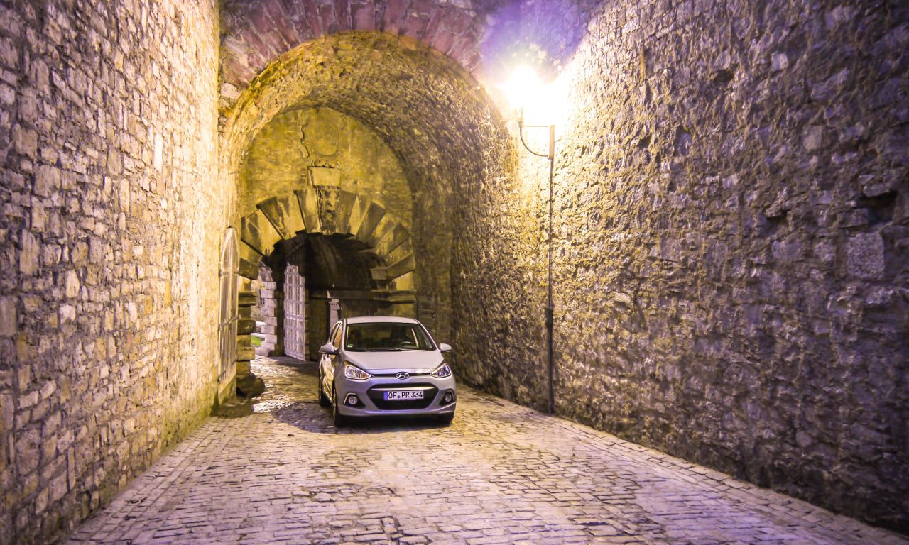 Hyundai i10 im Fahrbericht Würzburg