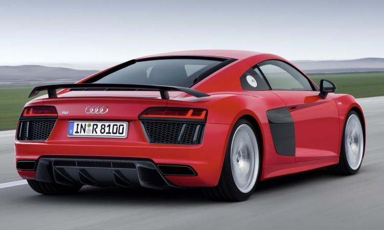 Genf 2015: Audi R8 V10 Plus mit 610 PS kostet 187.400 Euro.