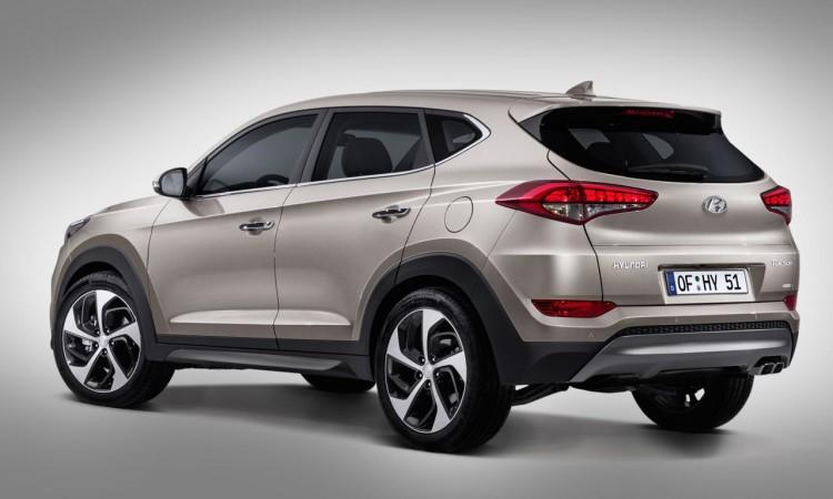 Genf 2015: Neuer Hyundai Tucson trägt seine Modellbezeichnung an ungewöhnlicher Stelle.