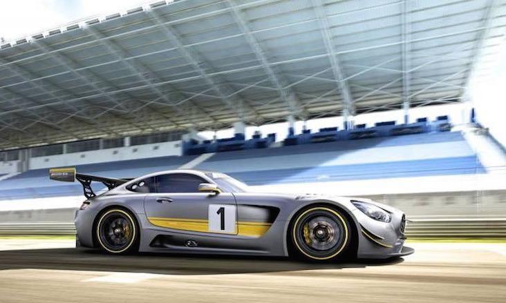 Mercedes AMG GT3 1 - Genf 2015: Das ist der Mercedes-AMG GT3