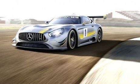 Mercedes AMG GT3 4 - Genf 2015: Das ist der Mercedes-AMG GT3