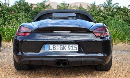 Porsche Boxster Spyder 42 - Ist das der neue Porsche Boxster Spyder?