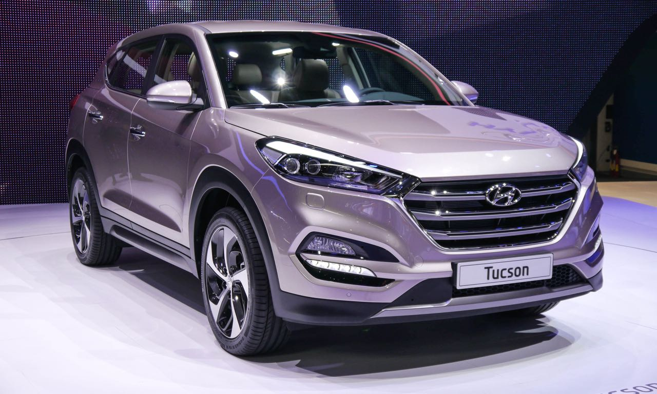 hyundai tucson mit 2 2 tonnen anh ngelast fahrbericht das auto magazin. Black Bedroom Furniture Sets. Home Design Ideas