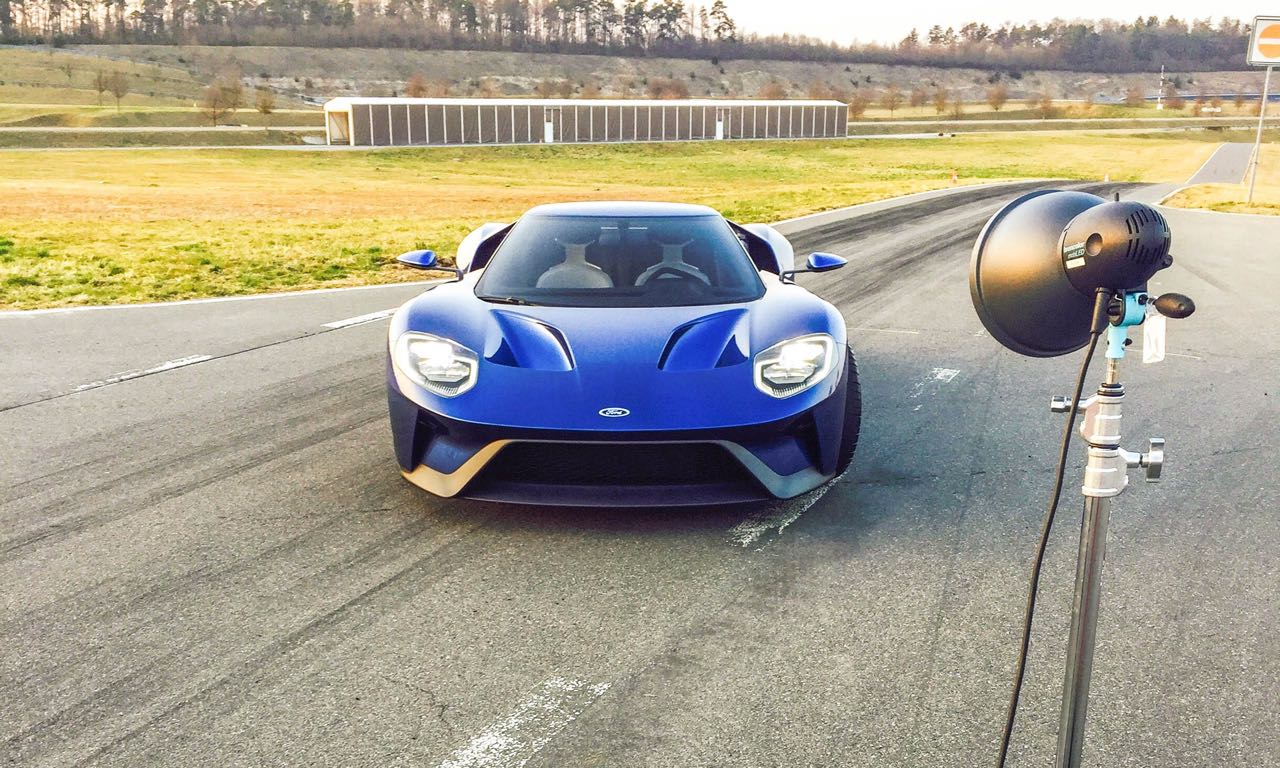Ford GT Photoshooting