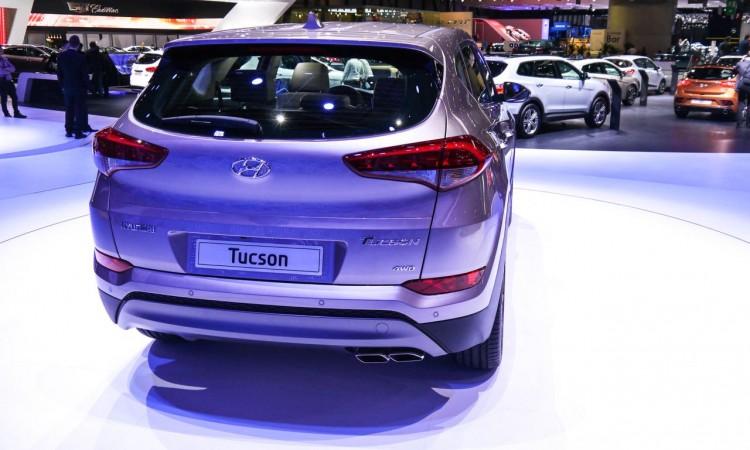 Hyundai Tucson in Genf mit aufgeräumter Heckpartie