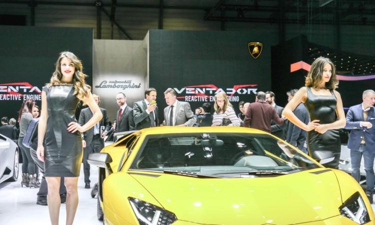 Lamborghini Aventador Superveloce auf dem Genfer Autosalon 2015