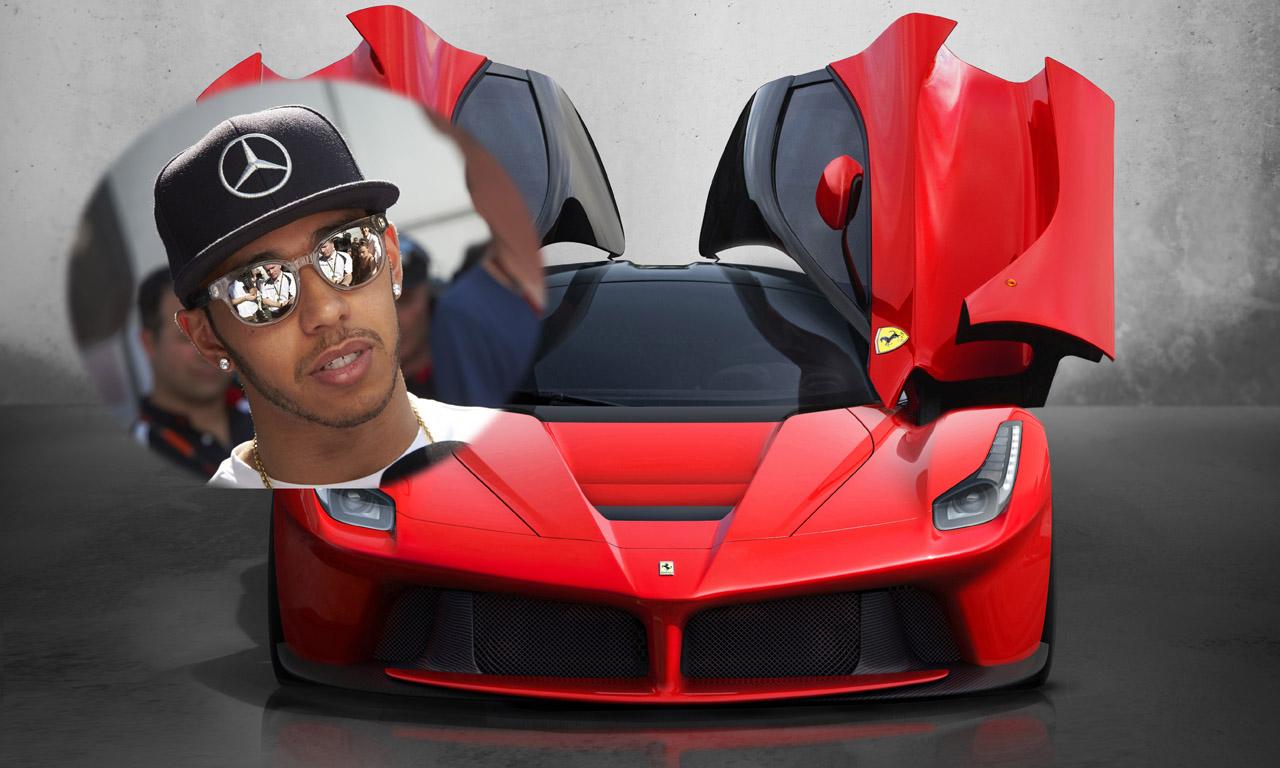 Lewis Hamilton hat sich einen Ferrari LaFerrari gekauft