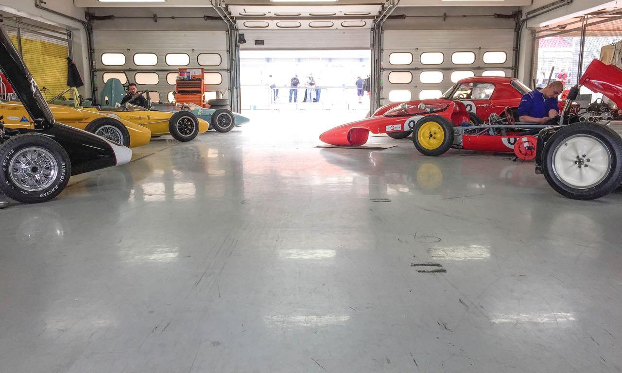 Hockenheim Bosch Historic Fahrerlager