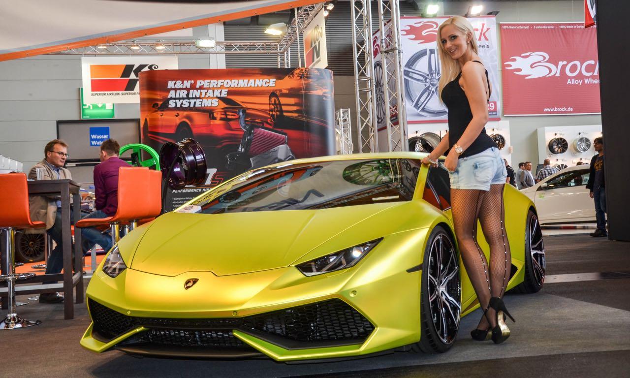 Tuning World Bodensee 2015: Goldener Lamborghini Huracan