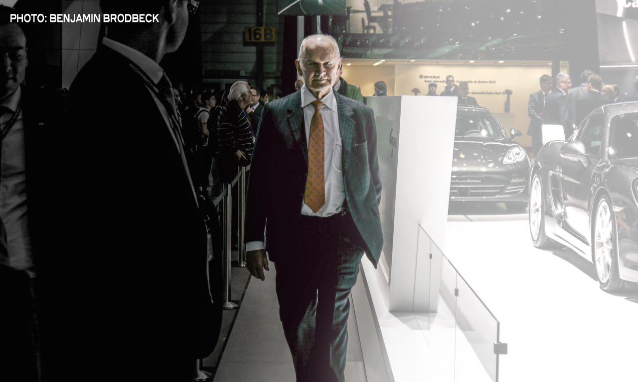 Volkswagen Konzern Patriarch und Aufsichtsratsvorsitzender Ferdinand Piech legt sein Amt nieder - Copyright Bild: Benjamin Brodbeck