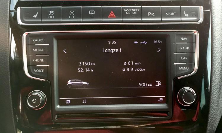 1Langzeitverbrauch Polo GTI 750x450 - Fahrbericht VW Polo GTI: Nachtfahrt durch die bunten Straßen von Colmar.