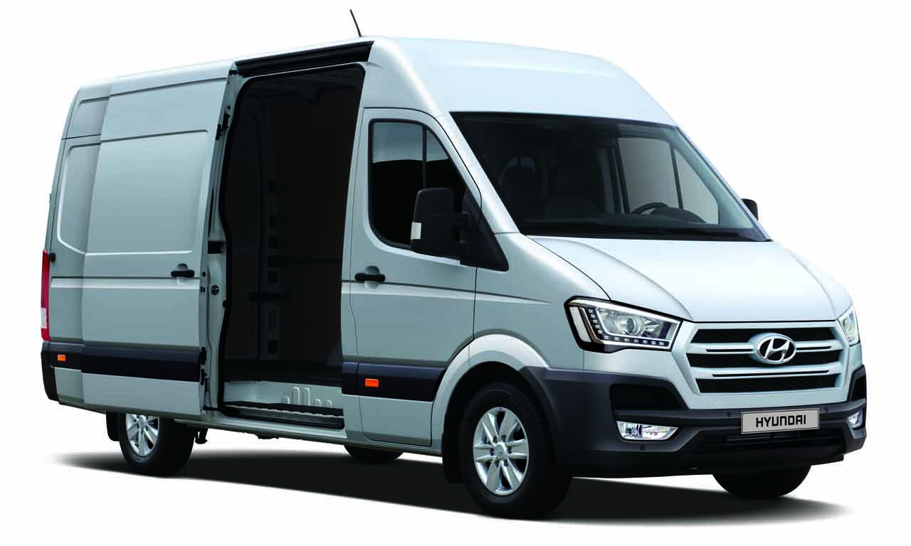hyundai h350 produktionsstart f r den 3 5 tonner. Black Bedroom Furniture Sets. Home Design Ideas