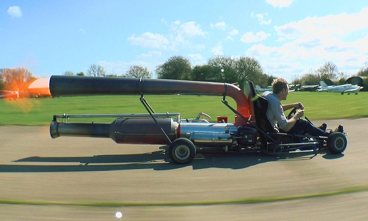 Jet-Kart Colin Furze