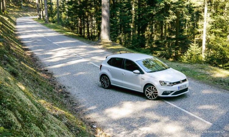 Kurven können so Spaß machen! - VW Polo GTI