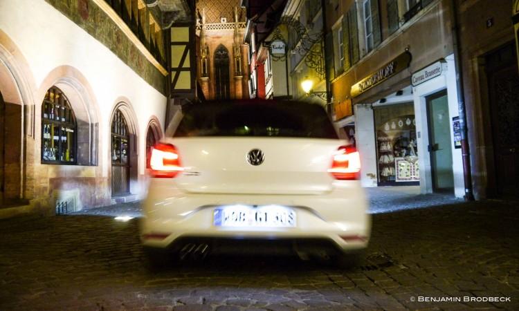 P1150181 750x450 - Fahrbericht VW Polo GTI: Nachtfahrt durch die bunten Straßen von Colmar.