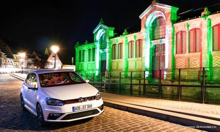 P1150220 750x450 - Fahrbericht VW Polo GTI: Nachtfahrt durch die bunten Straßen von Colmar.