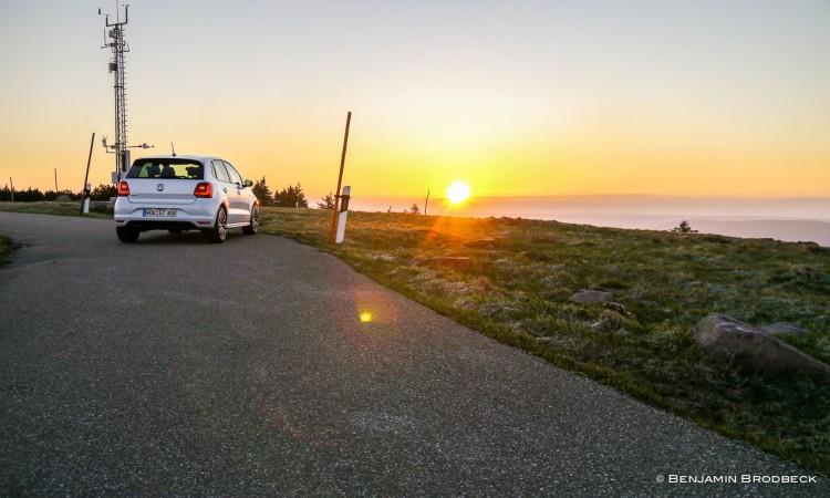 Mit dem VW Polo GTI zum Sonnenaufgang in den Schwarzwald