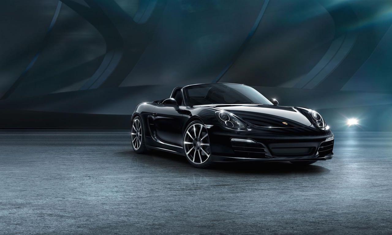 Porsche 911 Carrera und Boxster Black Edition