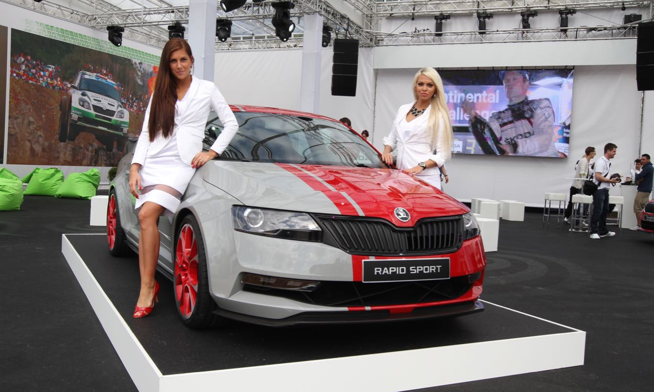 Skoda Rapid Sport am Wörthersee 2013