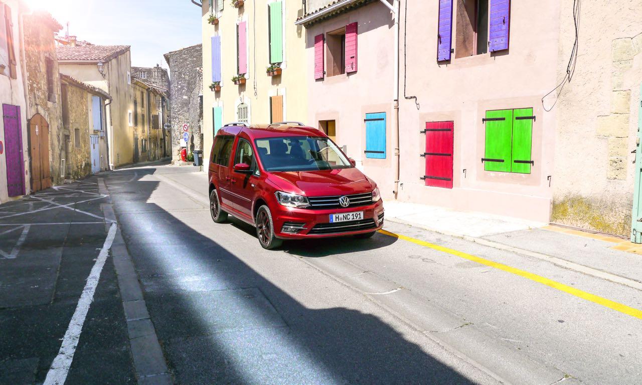 Volkswagen Caddy (2016) im Test bei Marseille in Frankreich