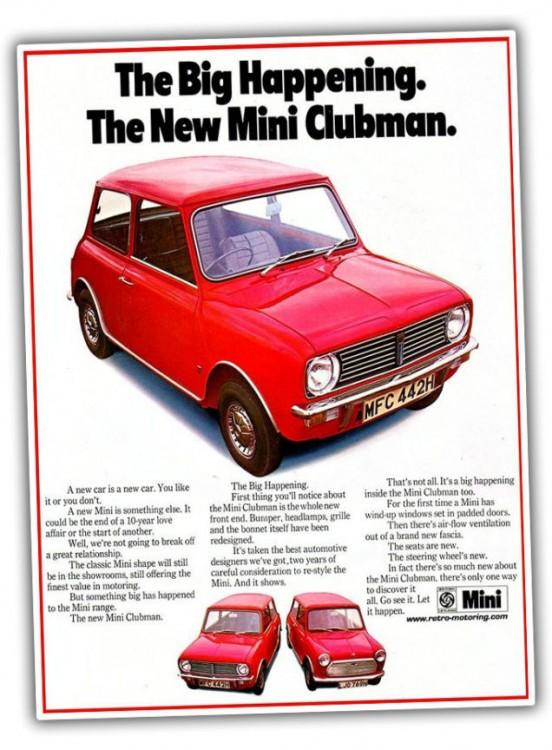 1311266043633301094 552x750 - Neuer Mini Cooper Clubman: Ausstattungen, Preise und Motoren.
