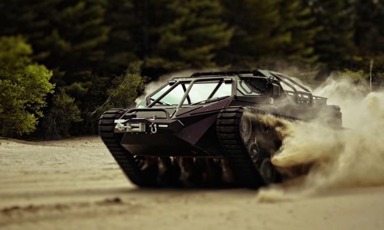 Ripsaw EV2 Luxus-Panzer: Alles, was wir in unserem Leben noch wollen.