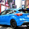Ford Focus RS mit 345 PS Leistung in New York auf dem Times Square