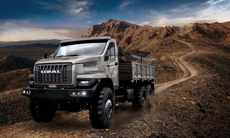 Der GAZ Ural Next als Lastentruck