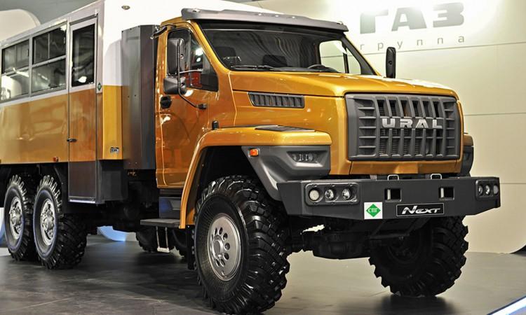 GAZ Ural Next: Neues russisches Extrem-Expeditionsmobil und Heavy Duty Truck.