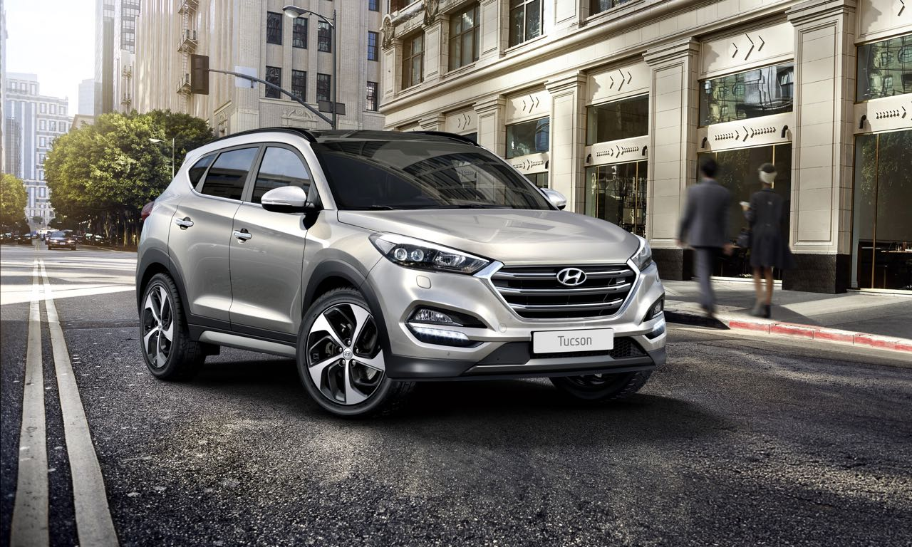 neuer hyundai tucson startet bei euro als limitierte sonderedition das. Black Bedroom Furniture Sets. Home Design Ideas