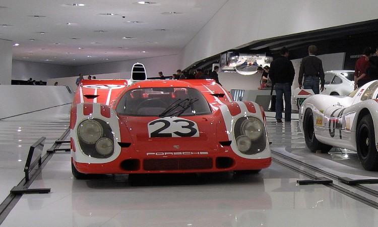 Porsche 917 von Hans Herrmann - Le Mans Siegerauto